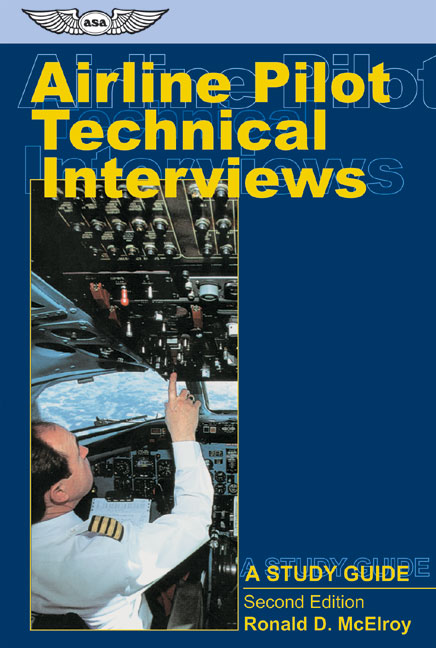 Airline Pilot Technical Interviews By McElroy, Ronald D.